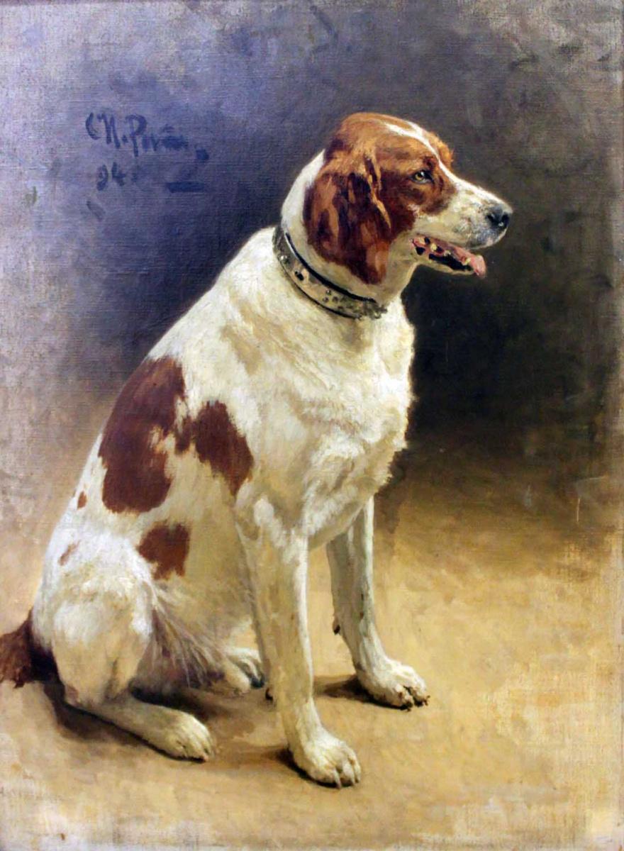 Илья Ефимович Репин. Собака (Пегас)