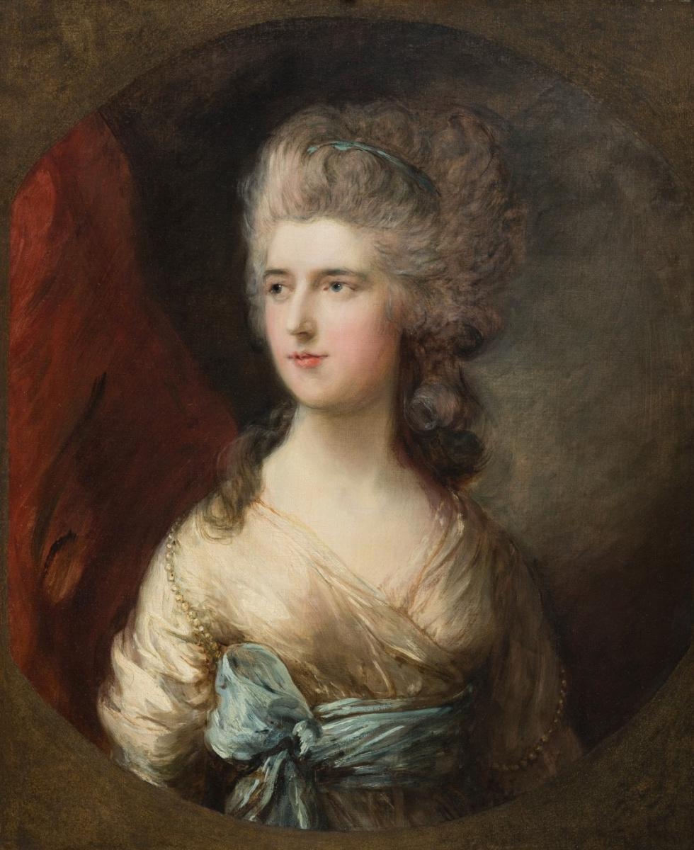 Thomas Gainsborough. Lady Anne Horatio Waldegrave