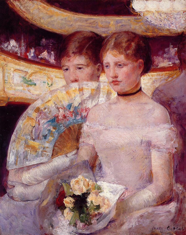 Mary Cassatt. Bed