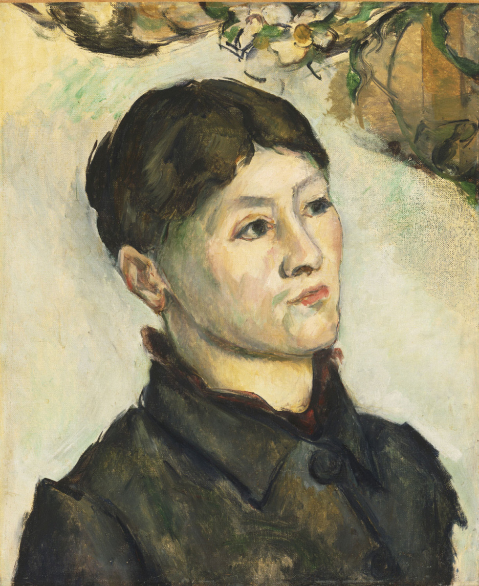 Paul Cezanne. Portrait of Madame Cezanne