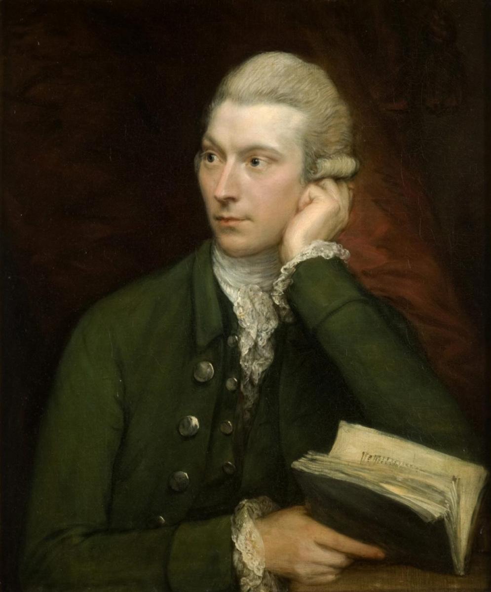 Thomas Gainsborough. Portrait Of John Palmer