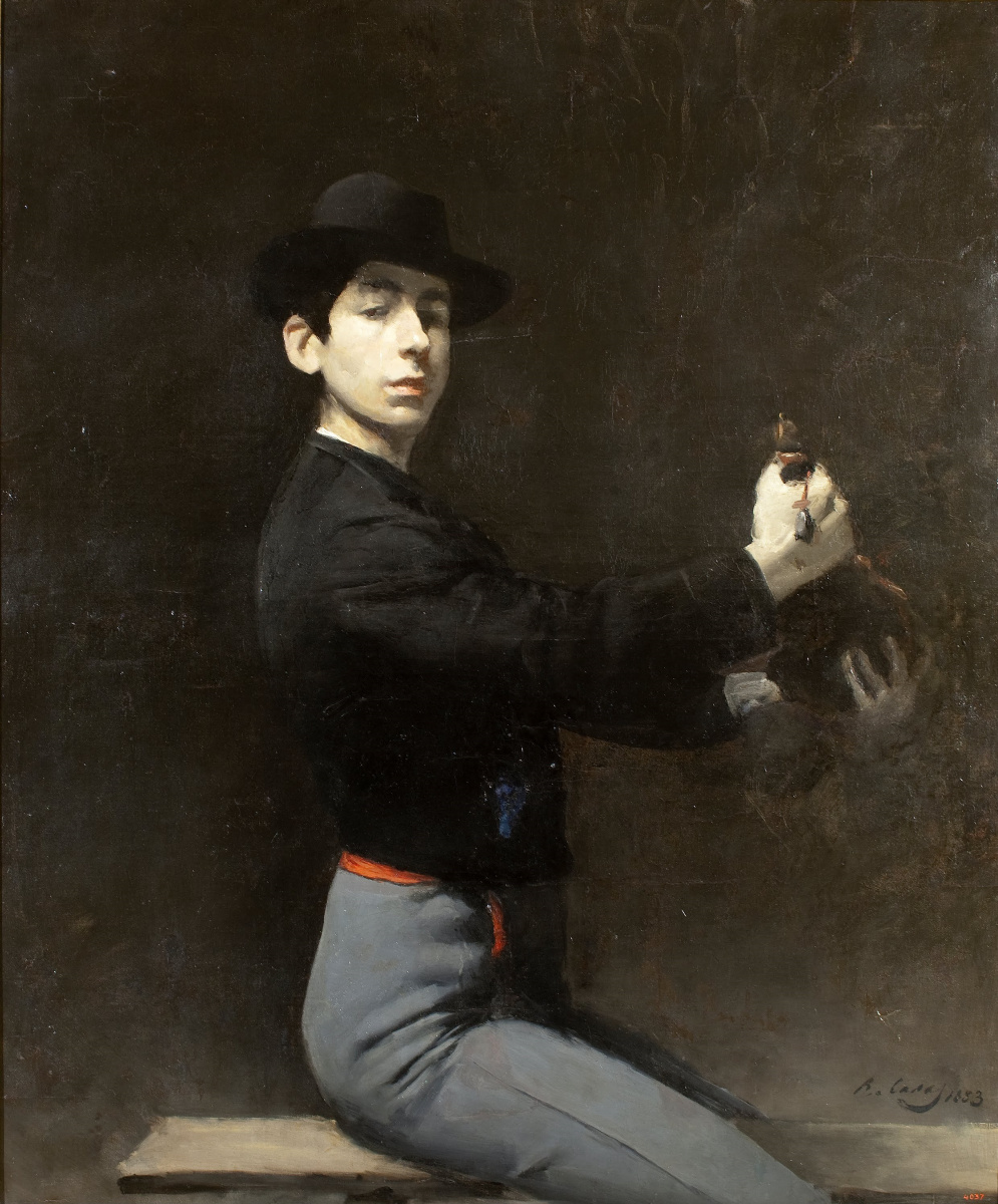 Ramon Casas i Carbó. Self-portrait