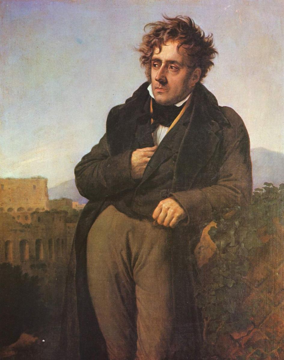 Анне-Луис Жироде де Руси Триозон. Портрет Шатобриана