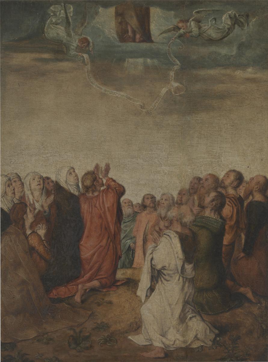 Михель Зиттов. Вознесение Христа