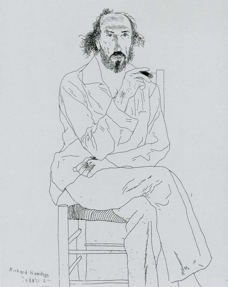Дэвид Хокни. Портрет 26