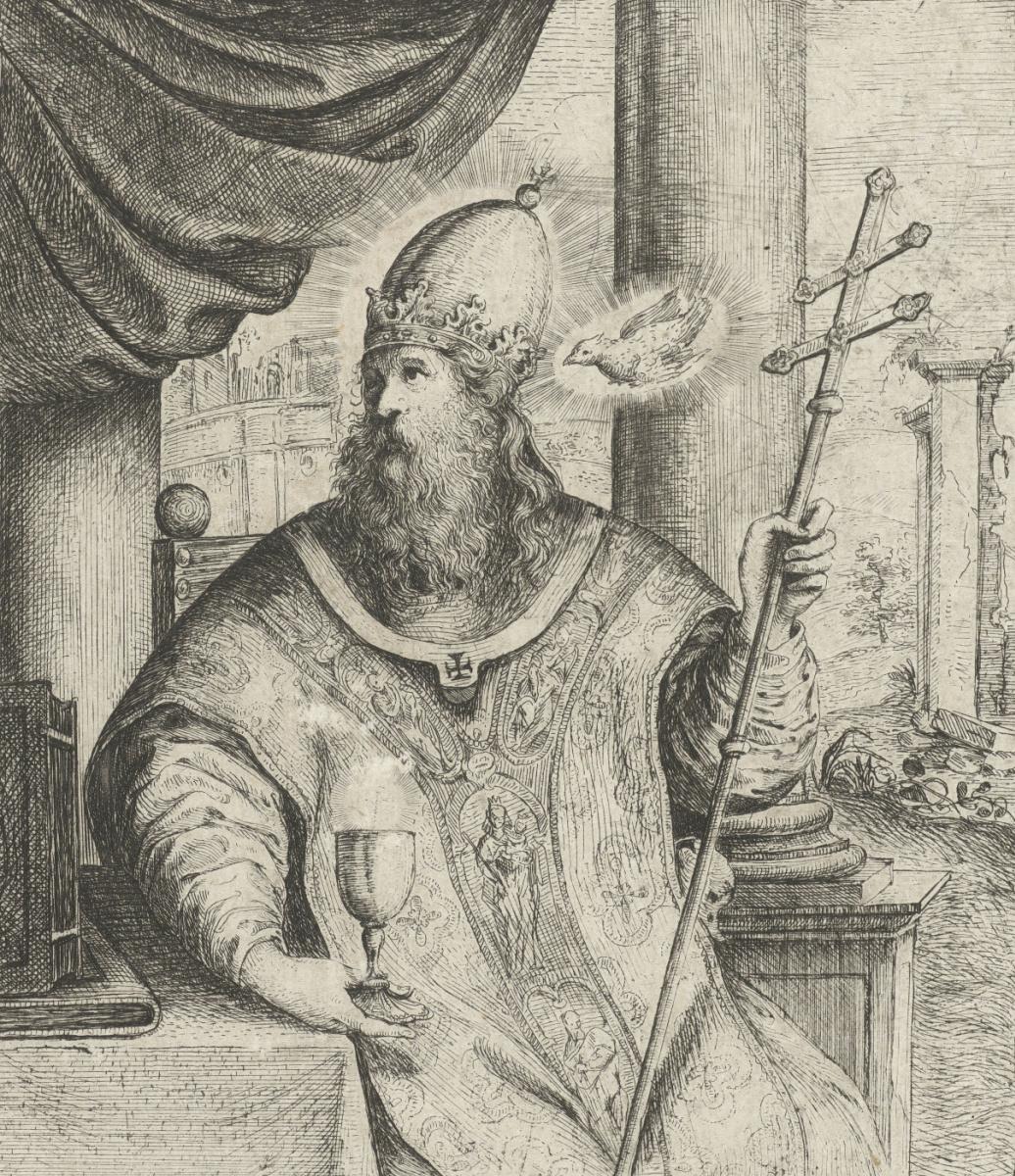 Jan Lievens. The Church father, St. John Chrysostom