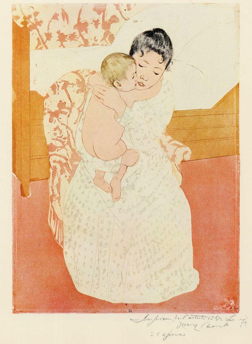 Мэри Кассат. Материнская нежность