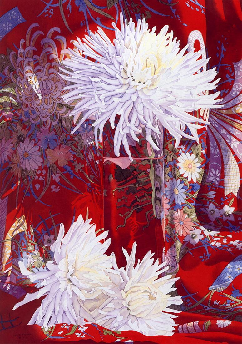 Джуди Треман. Белые цветы