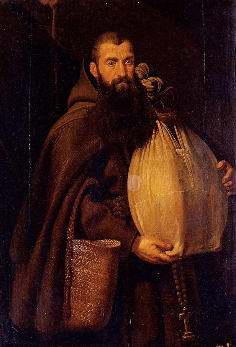 Питер Пауль Рубенс. Святой Феликс из Канталиче