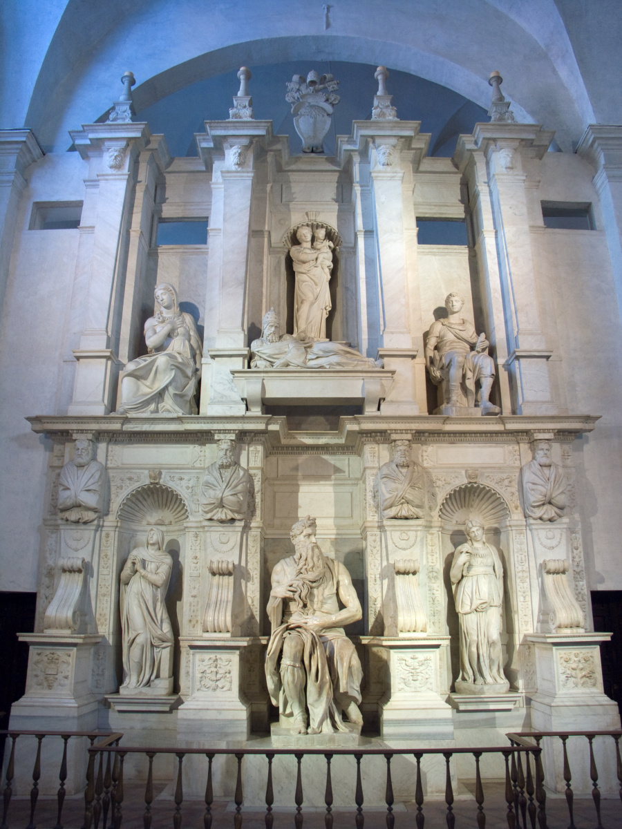 Michelangelo Buonarroti. The tomb of Pope Julius II