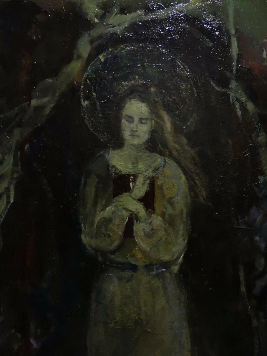 """Sophia Esakova. """"Apprehension""""(fragment)"""