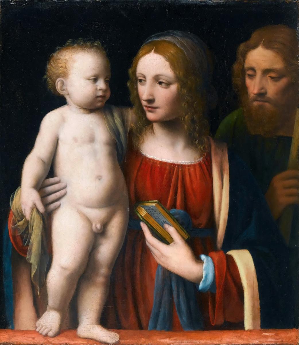 Bernardino Luini. Holy family