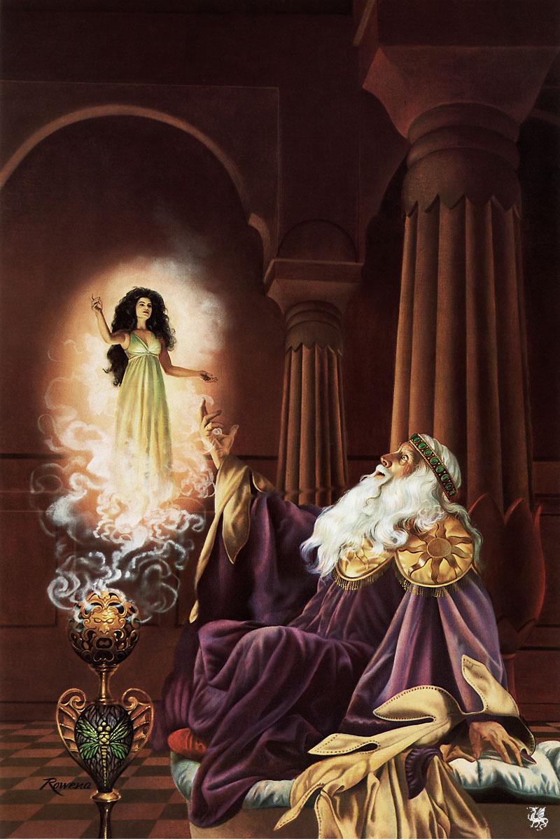 Rowena Morrill. Fantasy 34