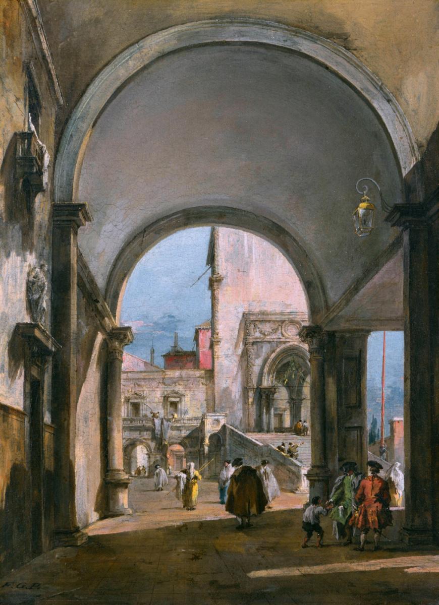Франческо Гварди. Архитектура