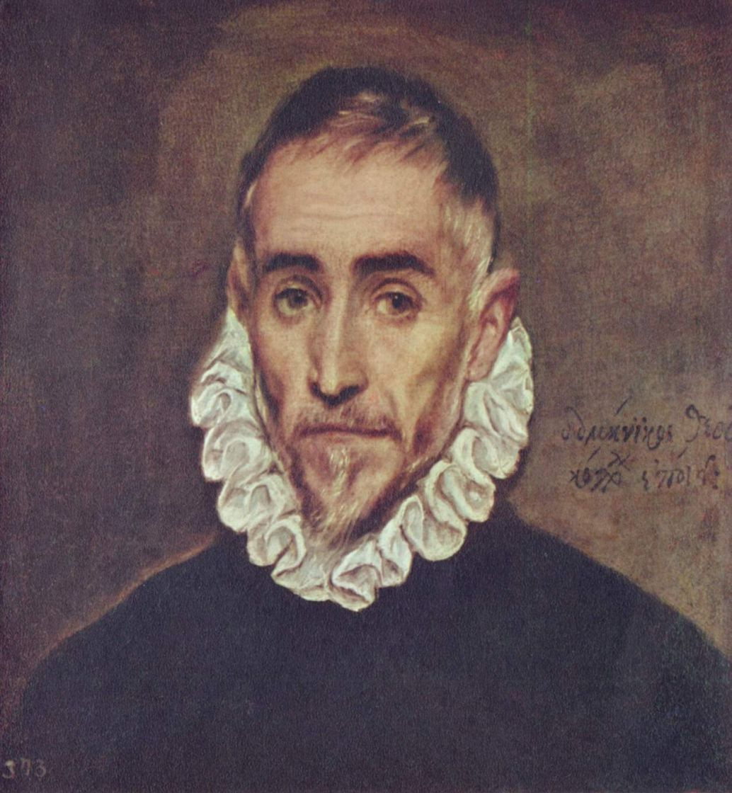 Domenico Theotokopoulos (El Greco). An Elderly Gentleman