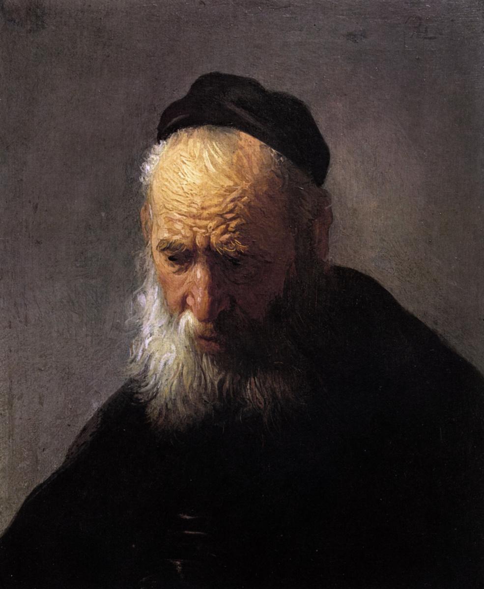 Rembrandt Harmenszoon van Rijn. Portrait of an old man