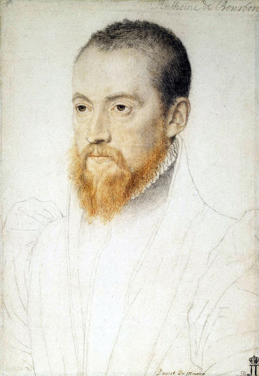 Аноним Лекюрье. Портрет мужчины с рыжей бородой