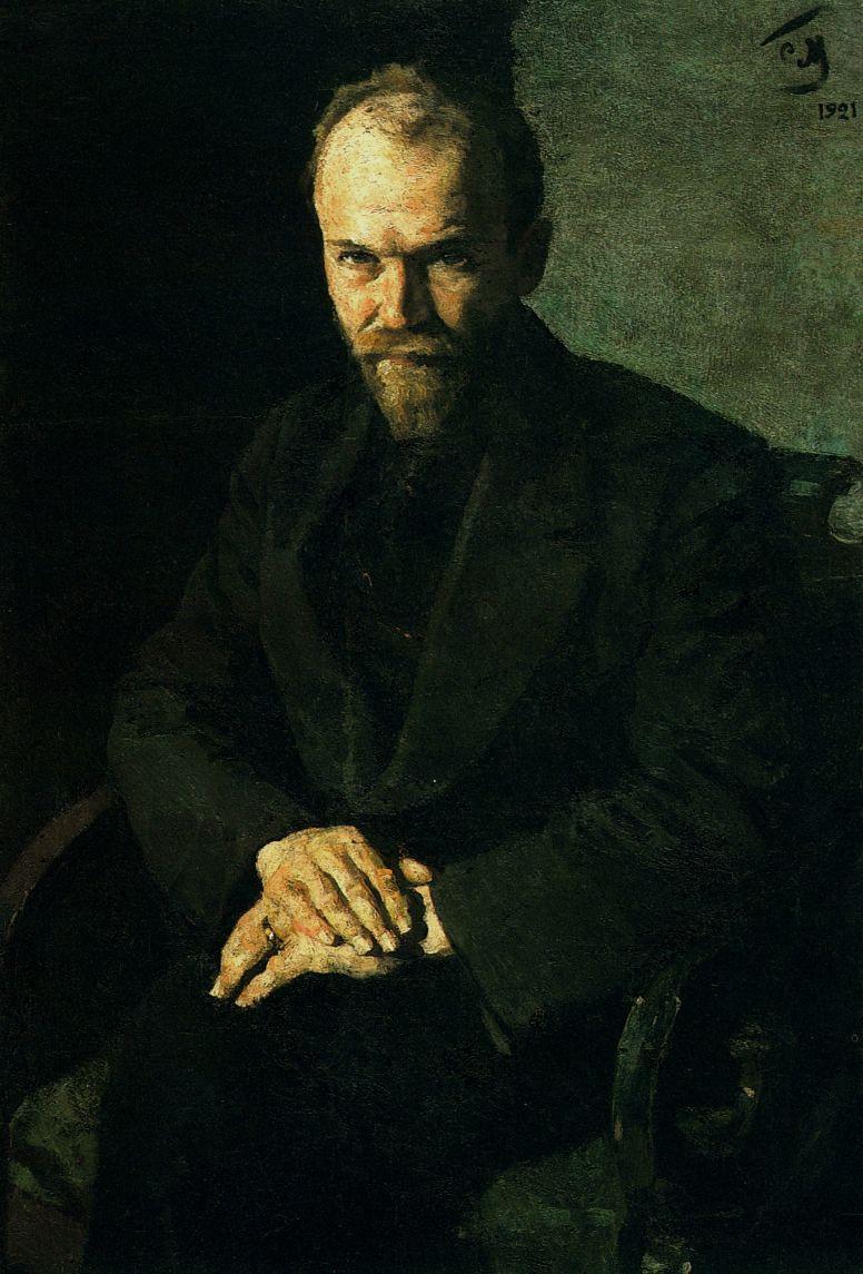 Сергей Васильевич Малютин. Портрет старого кооператора