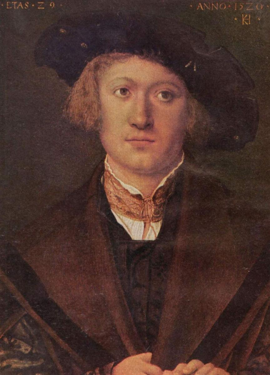 Ханс Зюс фон Кульмбах. Портрет молодого человека