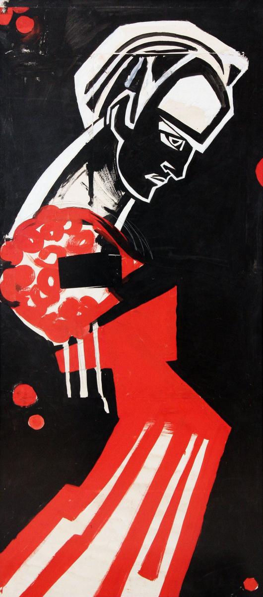 Алла Горская. Портрет поэта В.Симоненко