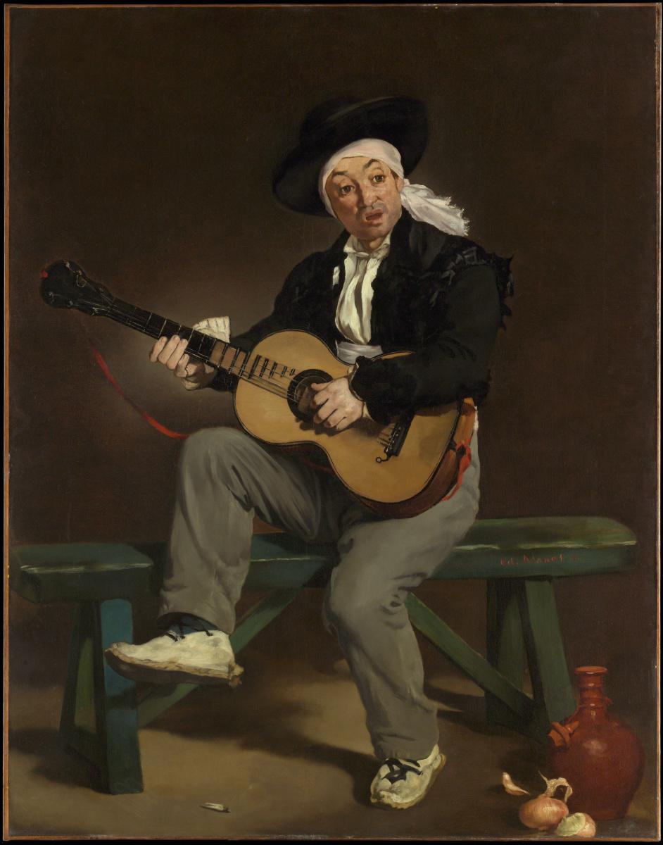 Эдуар Мане. Испанский певец