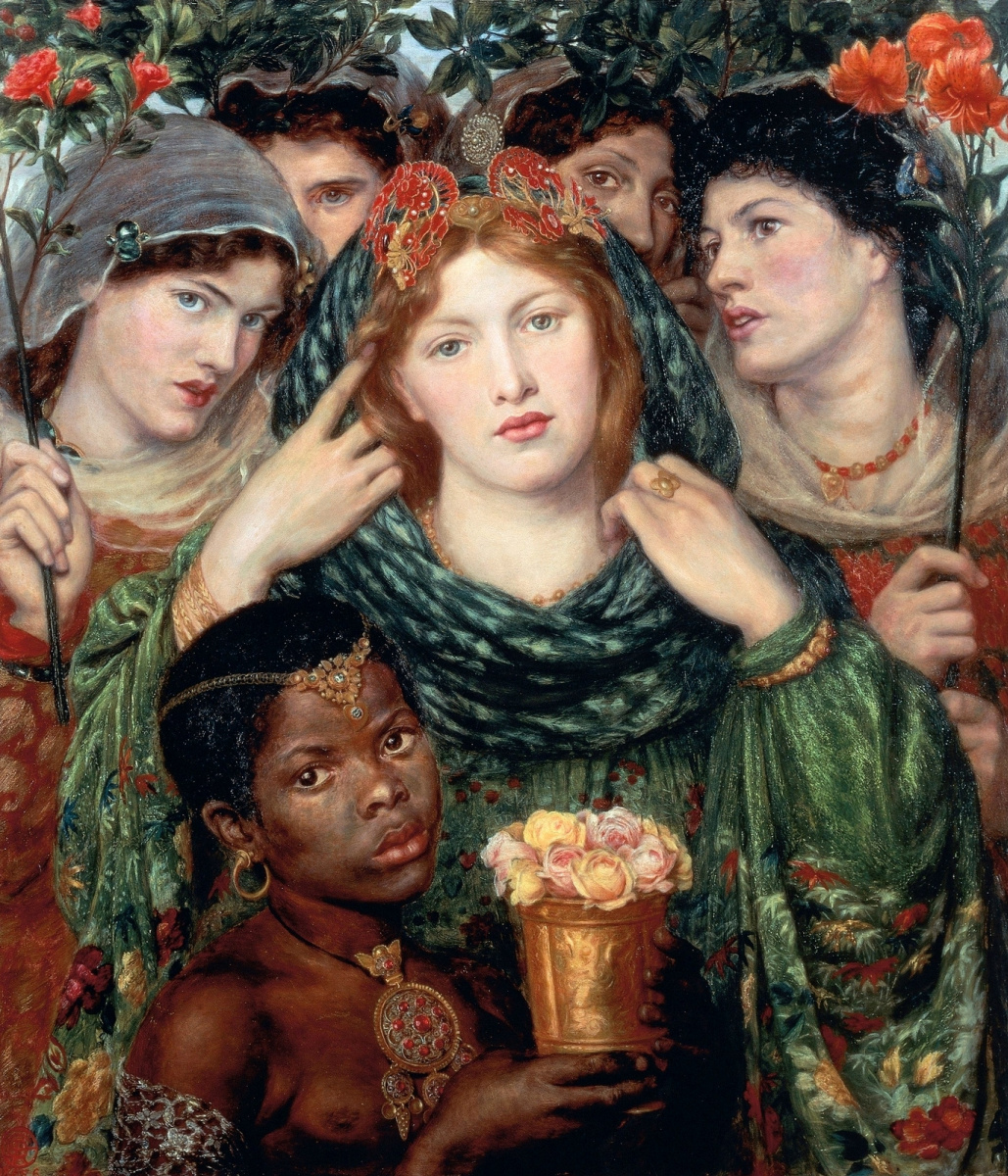 Dante Gabriel Rossetti. Beloved (The Bride)