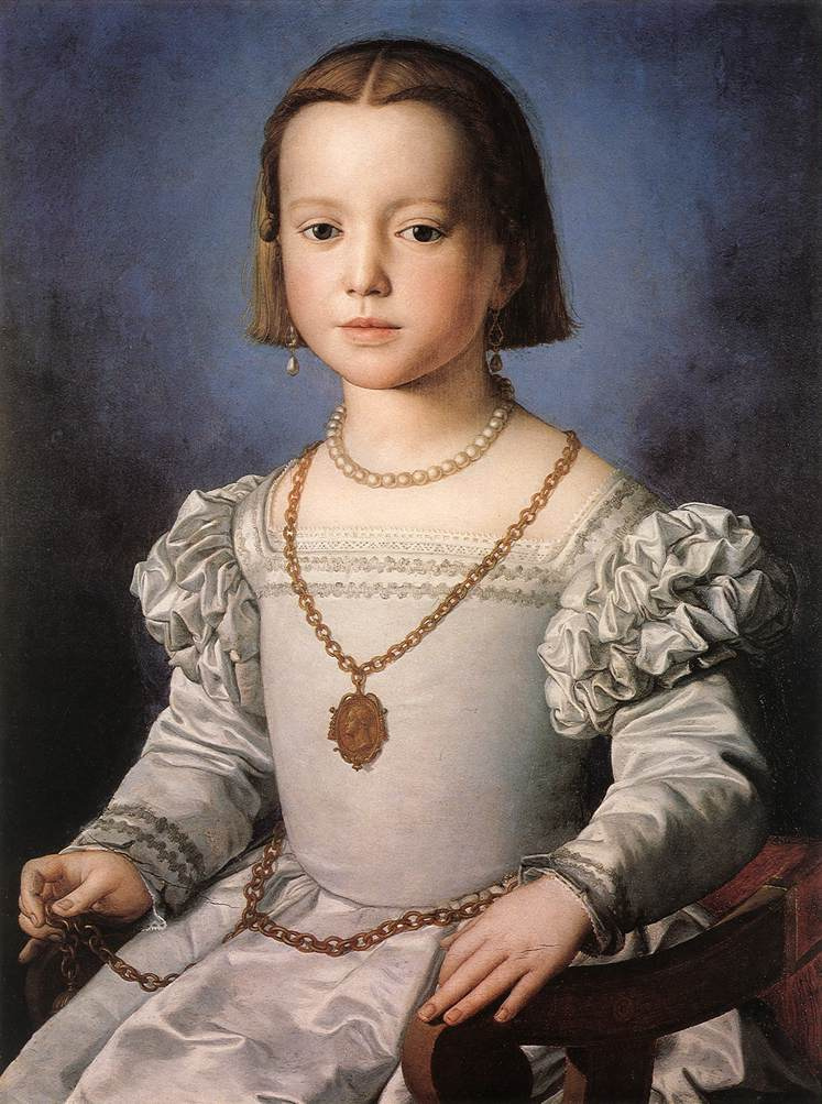Agnolo Bronzino. The illegal daughter of Cosimo I