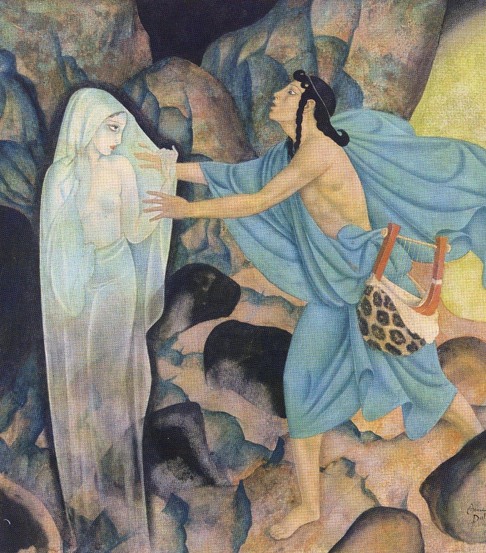 Эдмунд Дюлак. Орфей и Эвридика