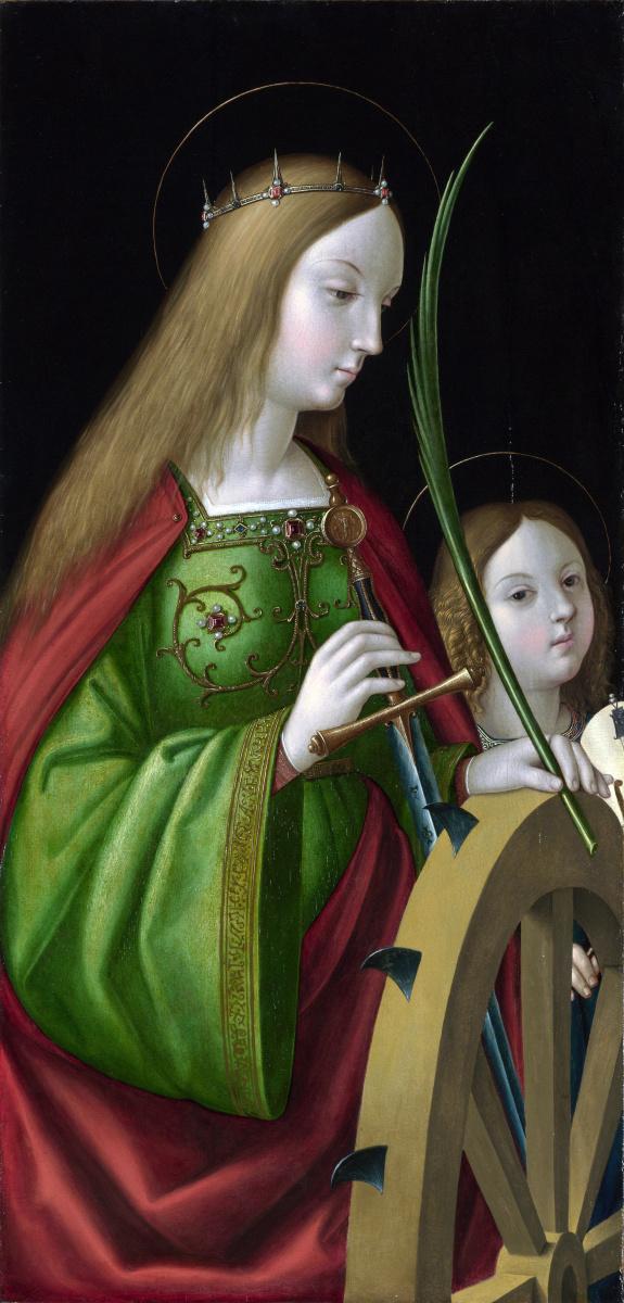Антонио де  Соларио. Святая Екатерина Александрийская