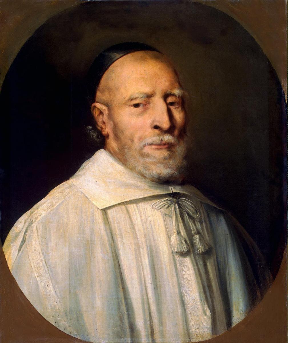 Филипп де Шампень. Портрет духовного лица
