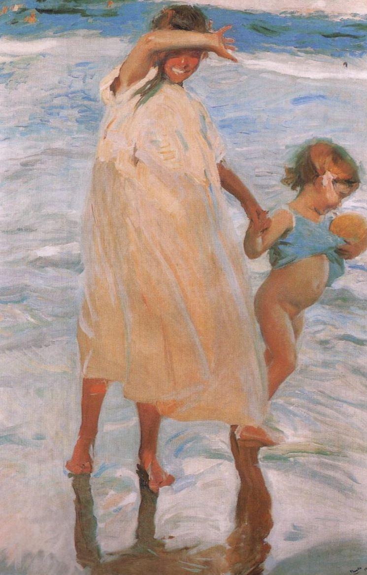 Хоакин Соролья (Соройя). Две сестры, Валенсия