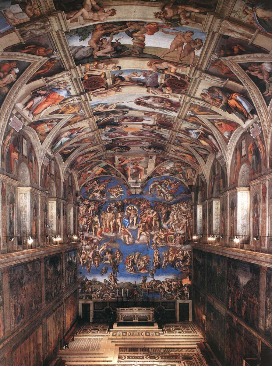 Michelangelo Buonarroti The Sistine Chapel