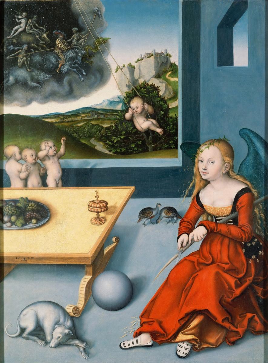 Lucas Cranach the Elder. Melancholy