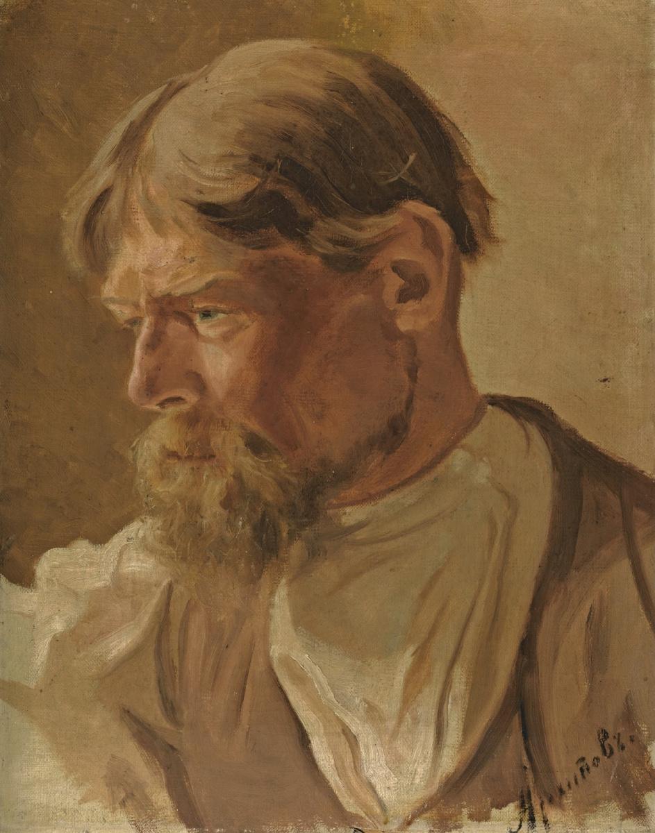 Abram Arkhipov. Portrait of a peasant