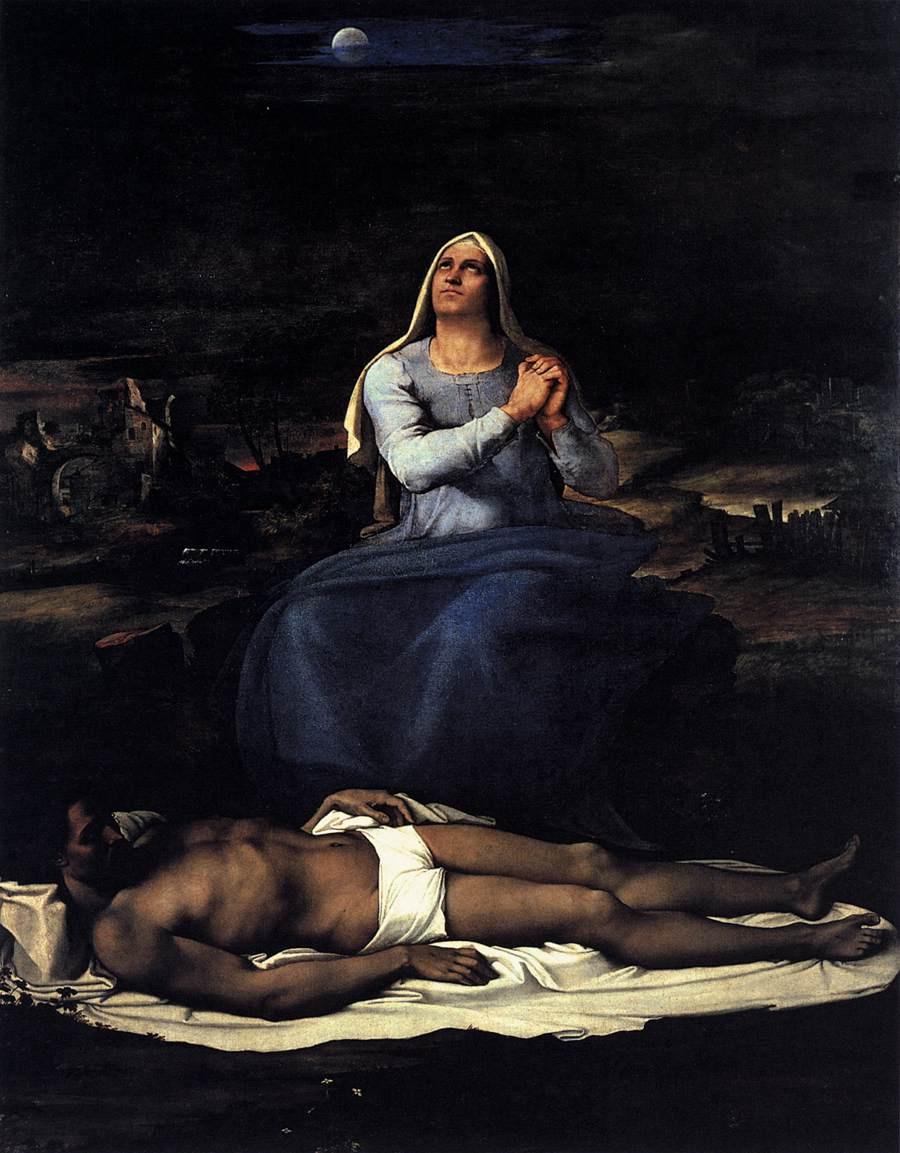 Себастьяно дель Пьомбо. Пьета