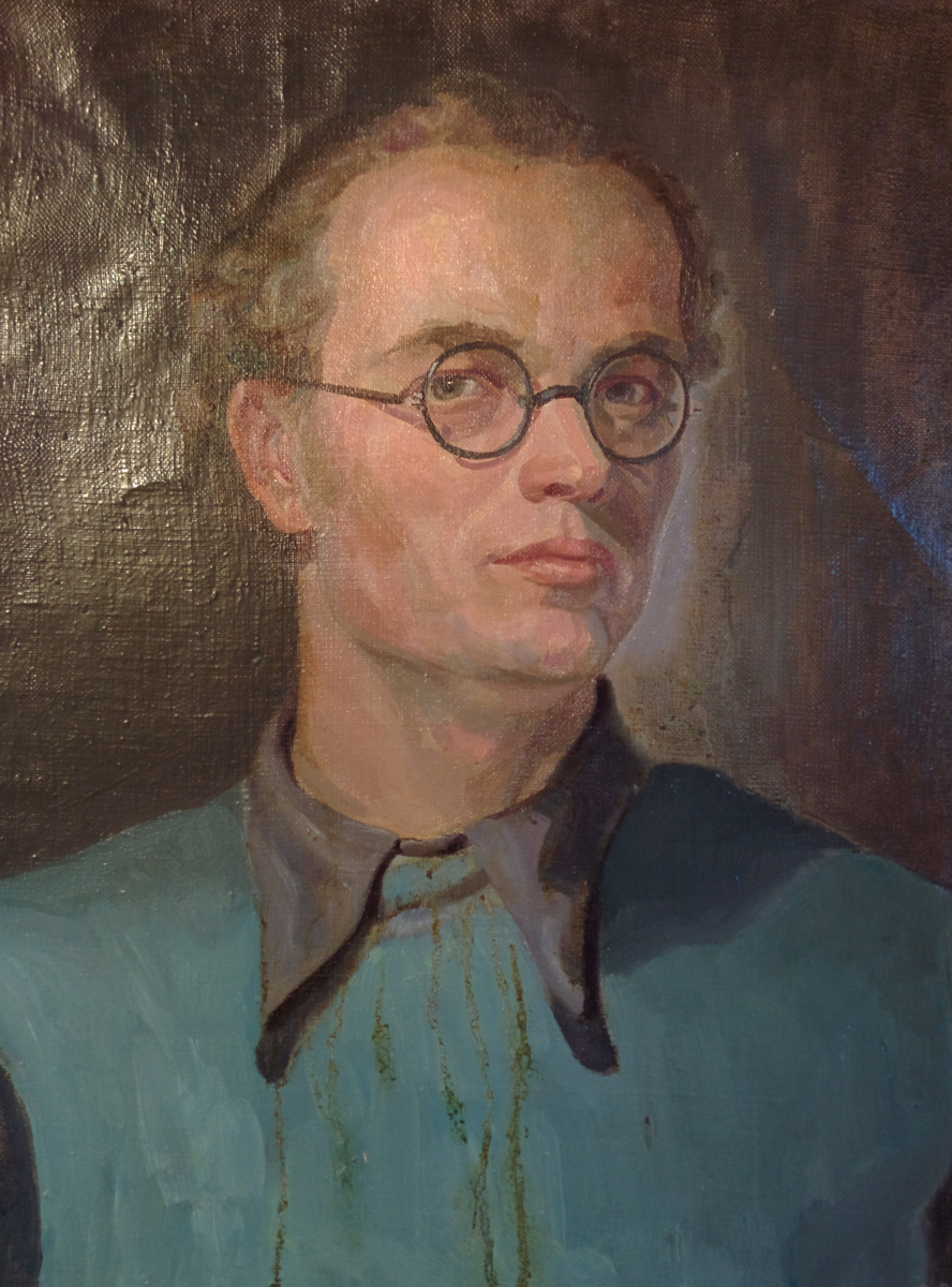 Arkady Pavlovich Laptev. Arkady Laptev. Self portrait