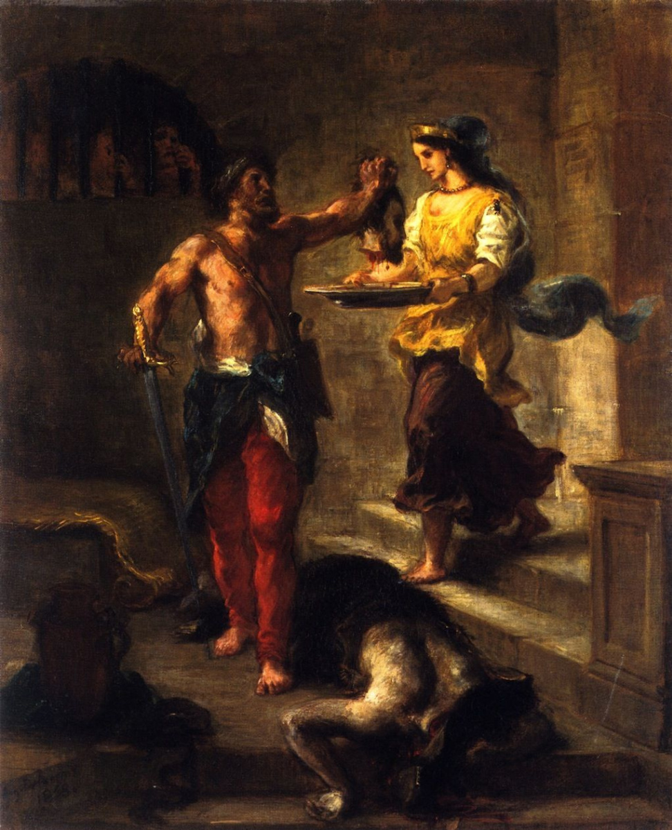 the history and visual elements of the abduction of rebecca a painting by eugene delacroix Affordably improve your space today with eugene delacroix prints and prints you history literature the abduction of rebecca, 1858 eugene delacroix giclee print.