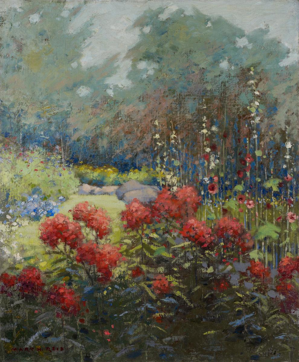 Mary Augusta Hister Reed. Garden in September