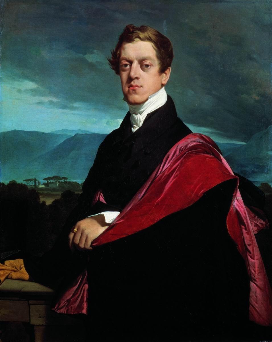 Jean Auguste Dominique Ingres. Portrait of count Nikolai Dmitrievich Guriev