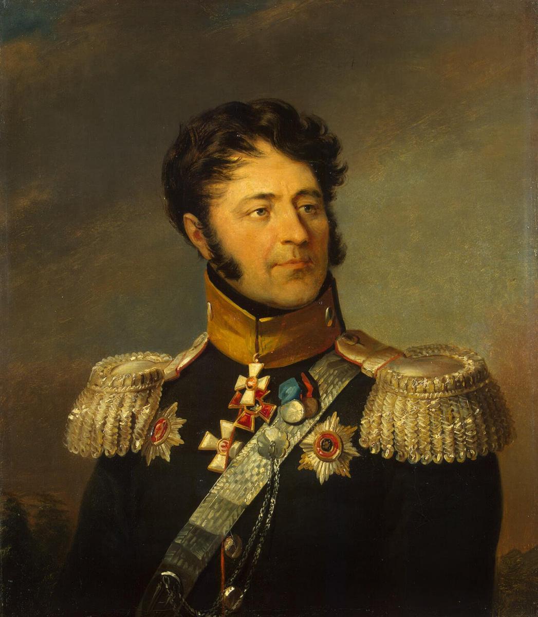 Джордж Доу. Портрет Луки Алексеевича Денисьева