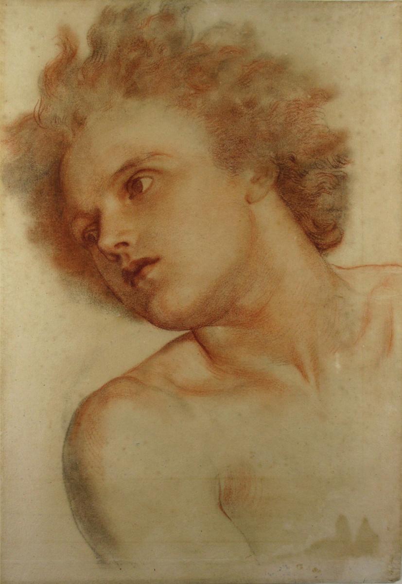 Джордж Фредерик Уоттс. Рисунок юноши для настенной росписи «Земля»