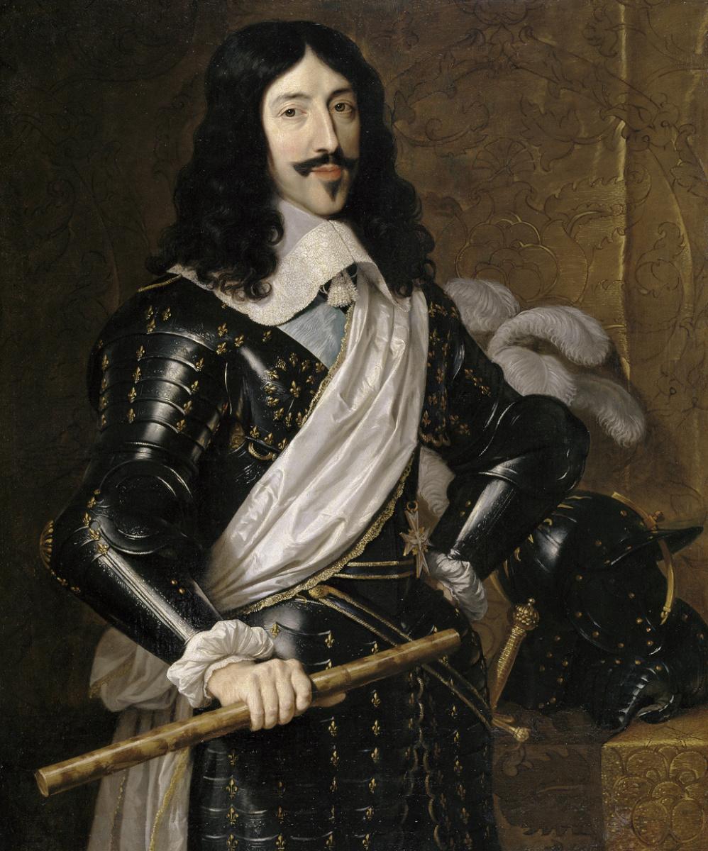 Philippe de Champigny. King Louis XIII