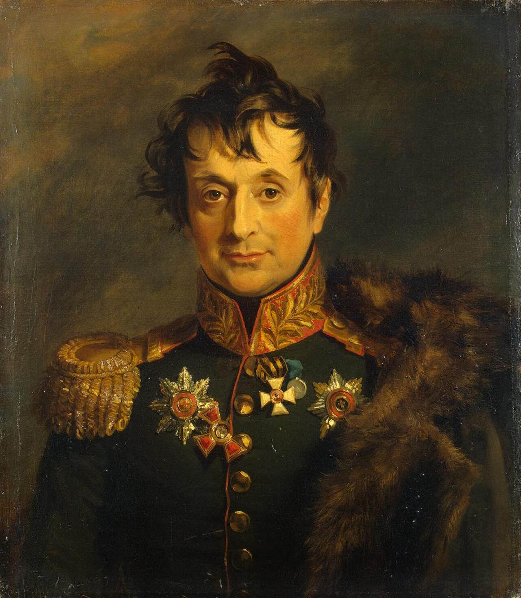 Джордж Доу. Портрет Александра Яковлевича Княжнина