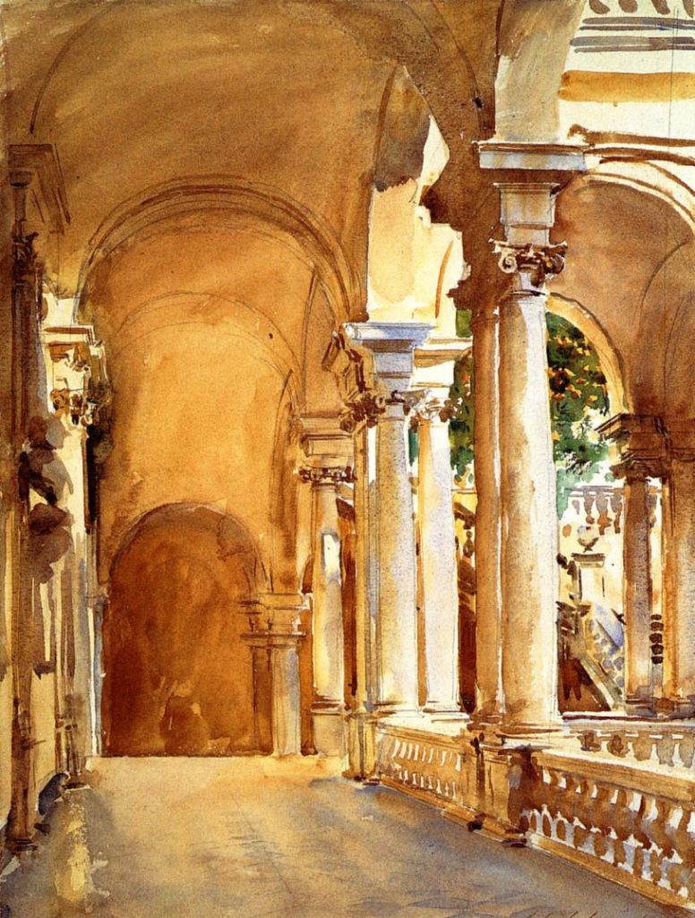 John Singer Sargent. Genoa, the University