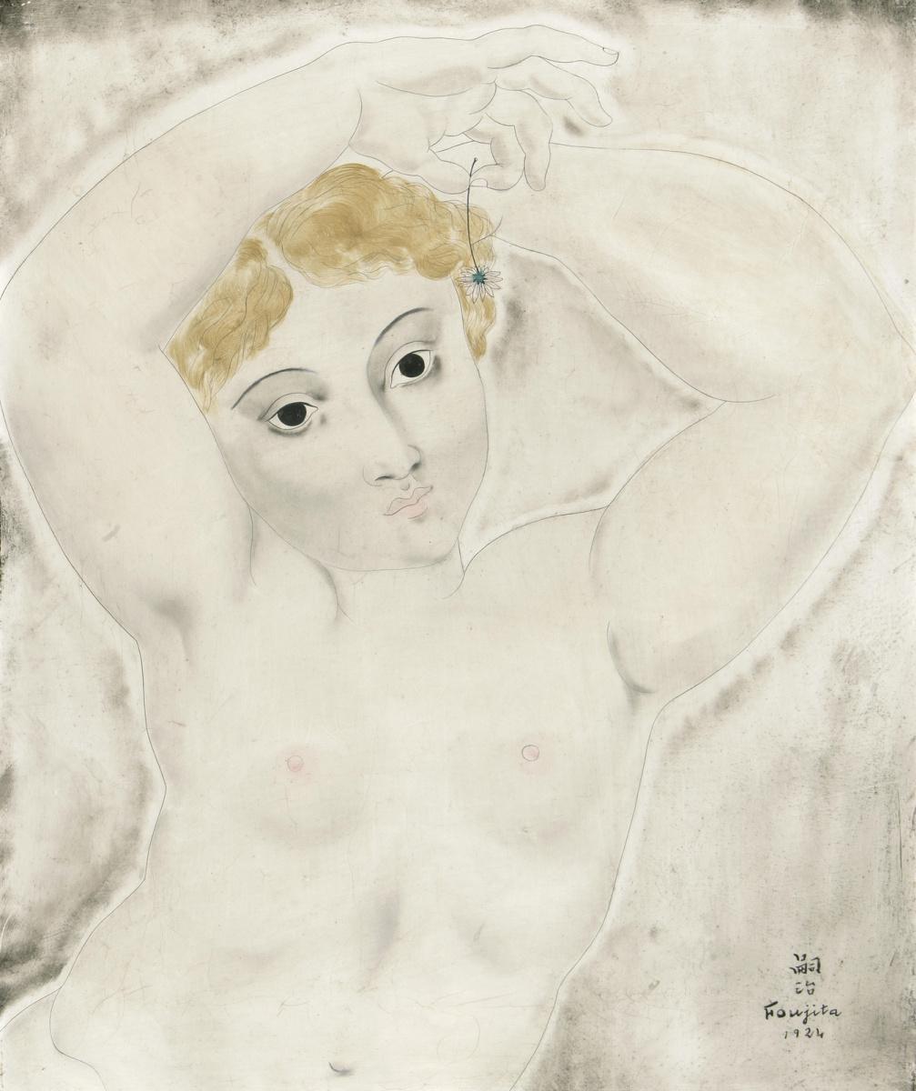 Цугухару Фудзита ( Леонар Фужита ). Nude study