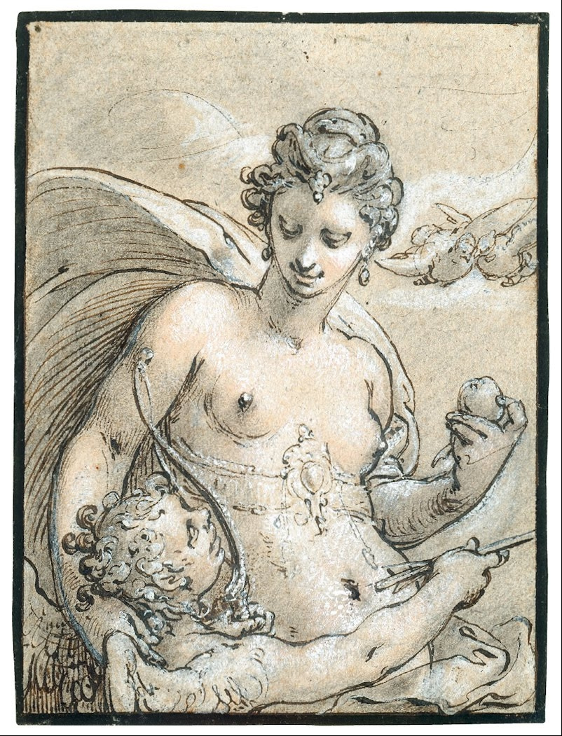 Hendrik Goltzius. Venus. About 1596