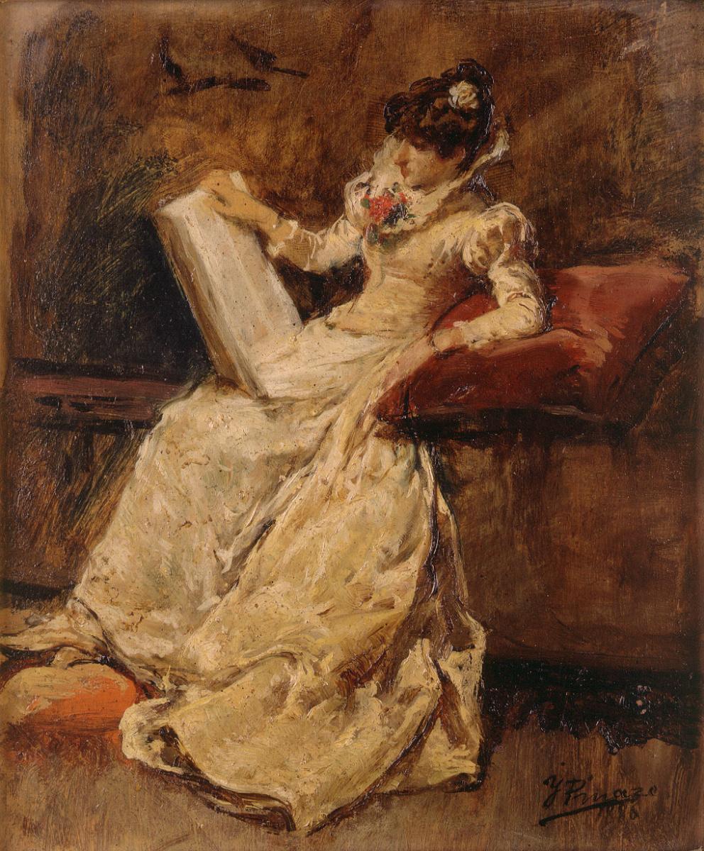 Игнасио Пиназо Камарленч. Сидящая женщина