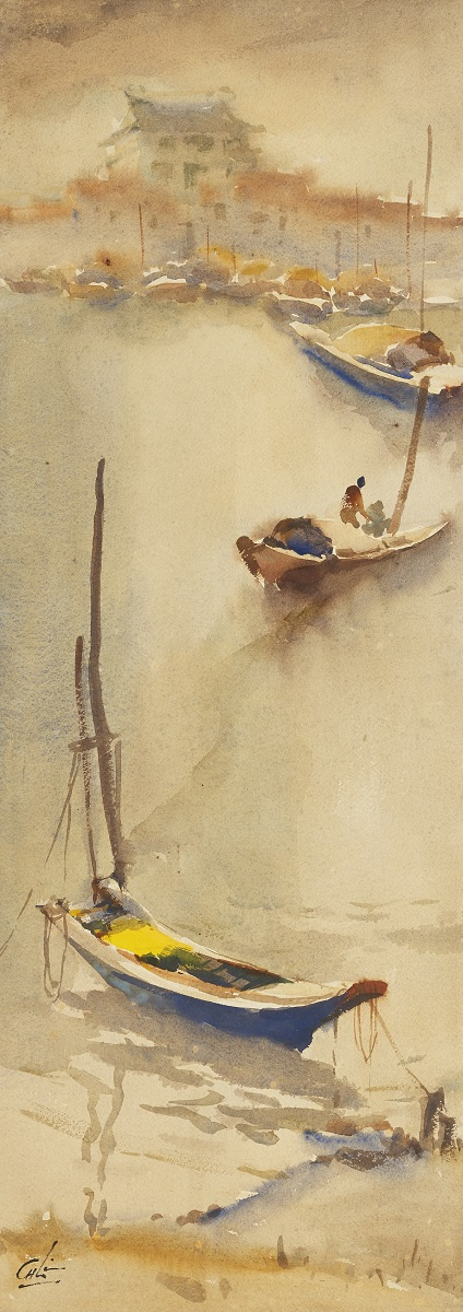 Лодки на побережье