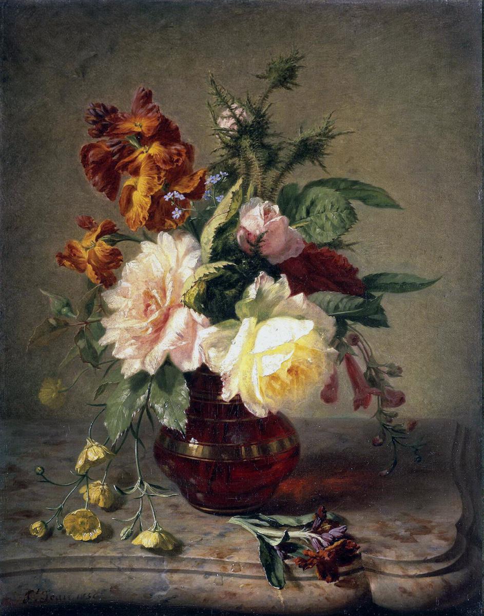 Симон Сен Жан. Цветы