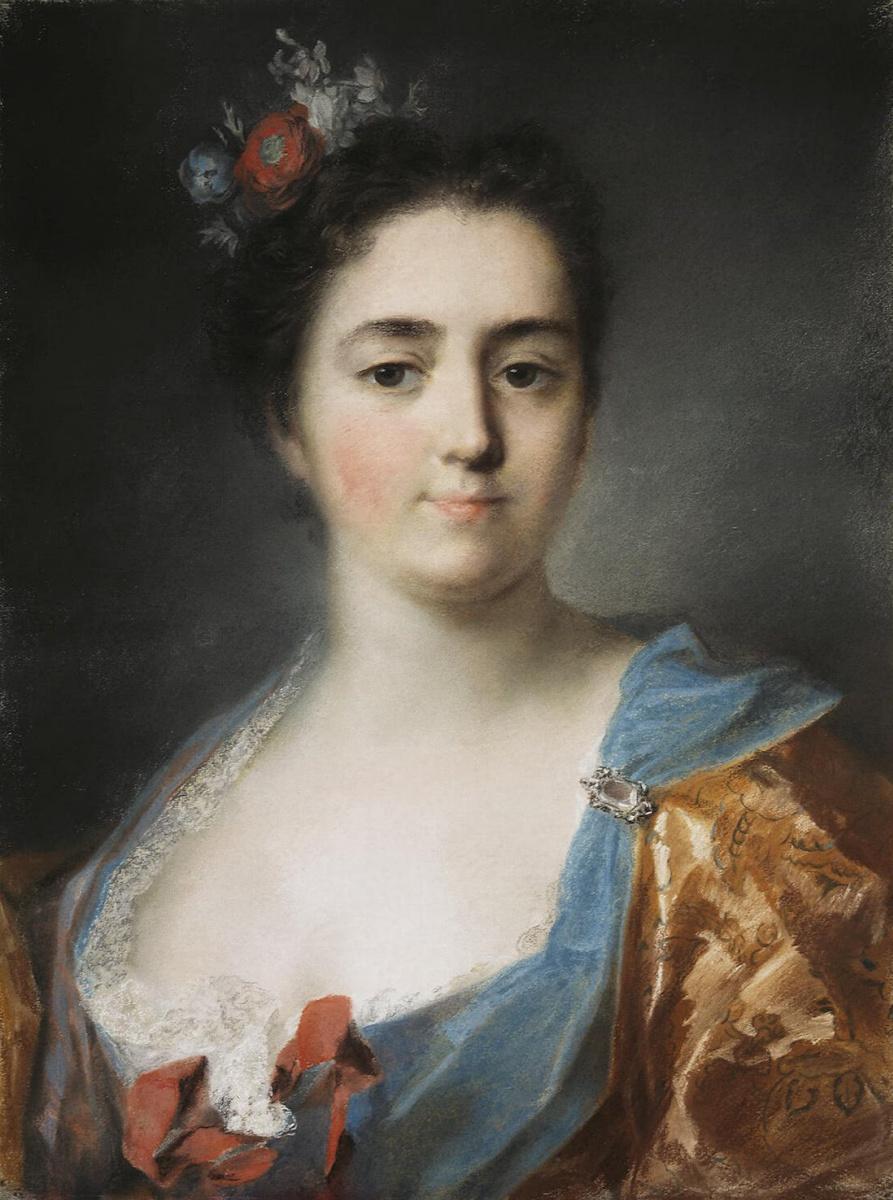 Розальба Каррьера (Каррера). Портрет молодой дамы